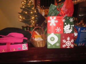 Again this year, our Rotarians donated over $500 in gift cards, toys, and sports equipment for local teens and pre-teens.