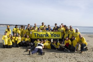 The 2014 Wakefield Rotary Polar Plunge Team raised almost $19,000 to battle the crippling disease worldwide.