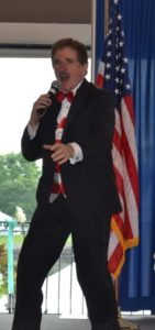 Rene Rancourt performed the National Anthem at the District Installation.